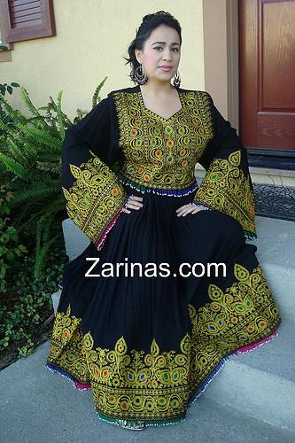 Aradozi Black Gold Afghan Dress Sofiaq31 Flickr