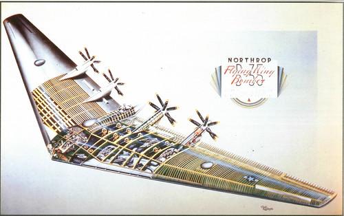 Cutaway Of Northrop Xb