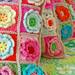 crochet pillows...