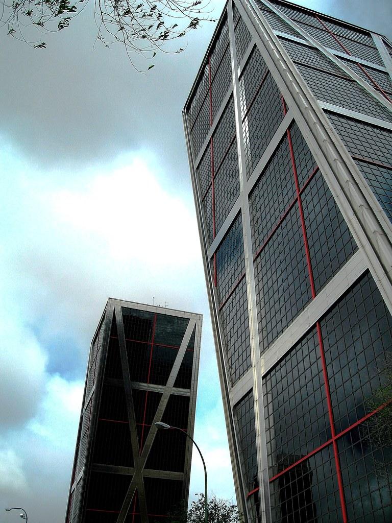 04 plaza castilla torres kio 4956 puerta de europa - Torres kio arquitecto ...