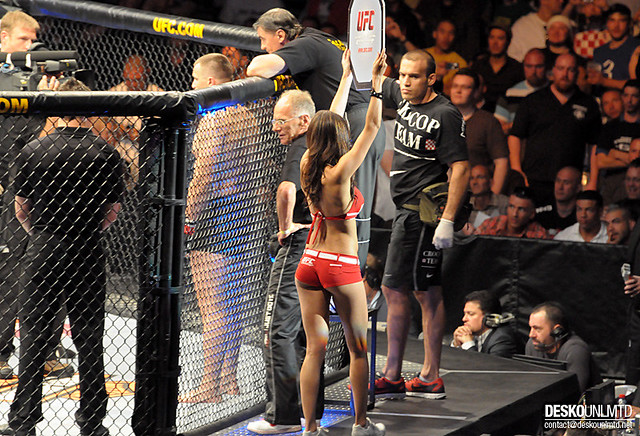 Opinion Ufc ring girl edith labelle hot