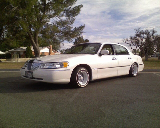Lincoln Town Car Cartier New Paint Rims Etc Flickr