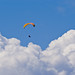 Paragliding on a Cloud Valley