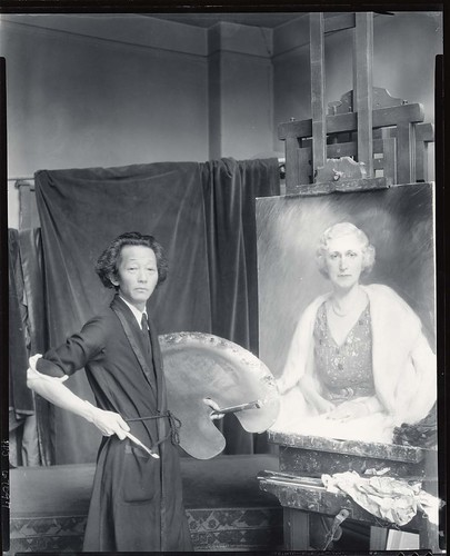 Kyohei Inukai in his studio [photograph] / (photographed by Peter A. Juley & Son) | by Smithsonian Institution