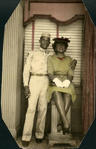 African American Couple Vintage African American