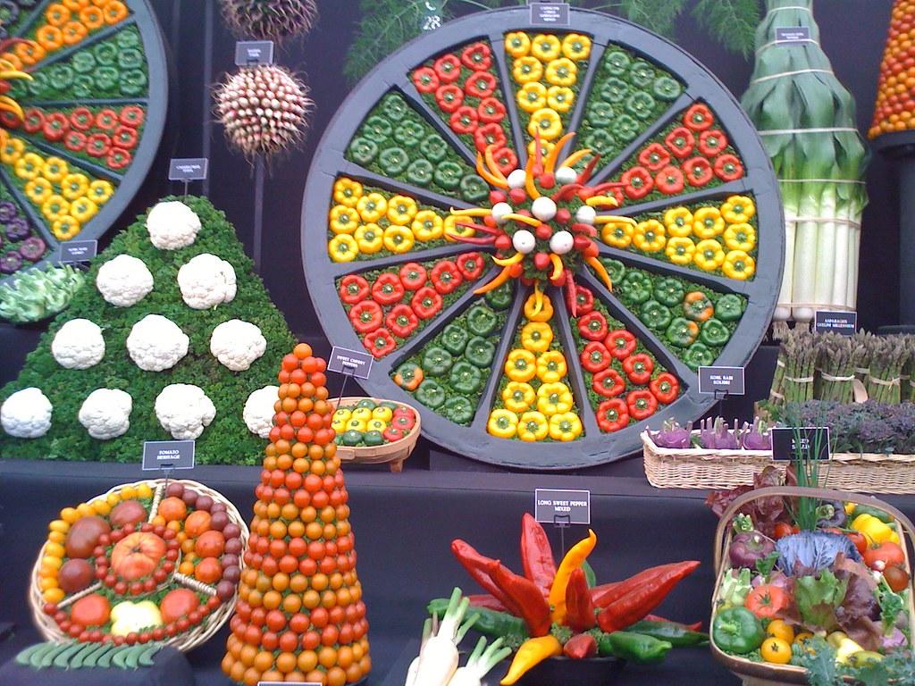 Chelsea flower show is held