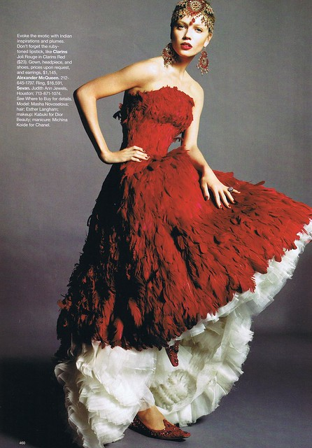 To acquire Mcqueen Alexander feather dress pictures trends