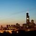 Chicago Skyline (From my Deck)