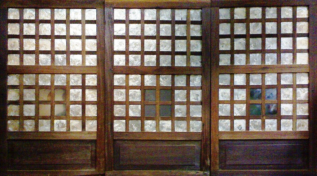 Capiz Window Panel Series 04 Capiz Kapis Window