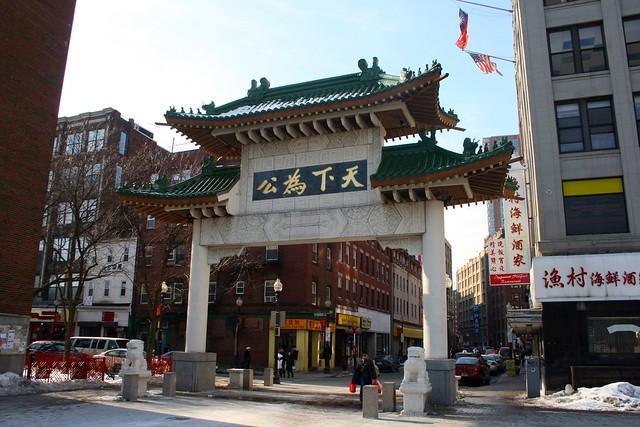 CHINA TOWN -BOSTON-