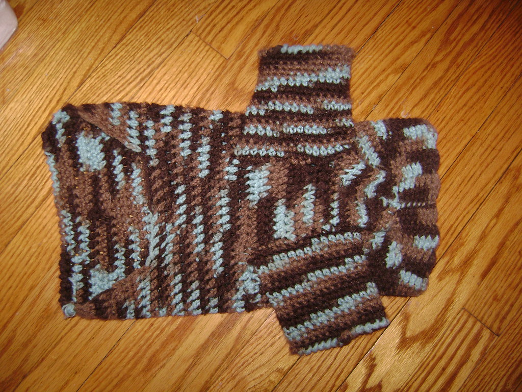 Free Crochet Dog Sweater With Legs