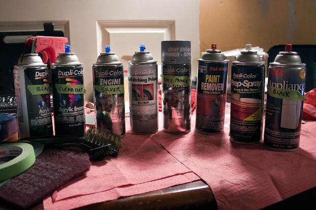 Paints Supplies Used Alot Of People Have Been Asking Me