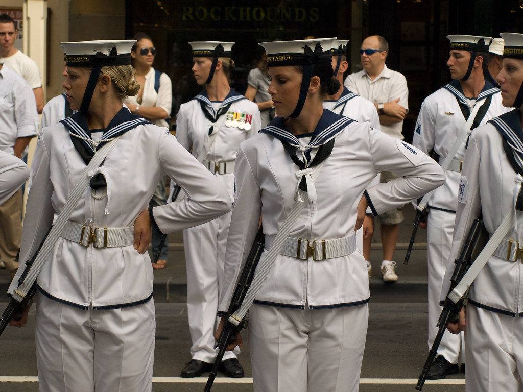 Right dress | The Royal Australian Navy exercises its ...