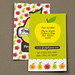 Graphic Farmers Market Business Card