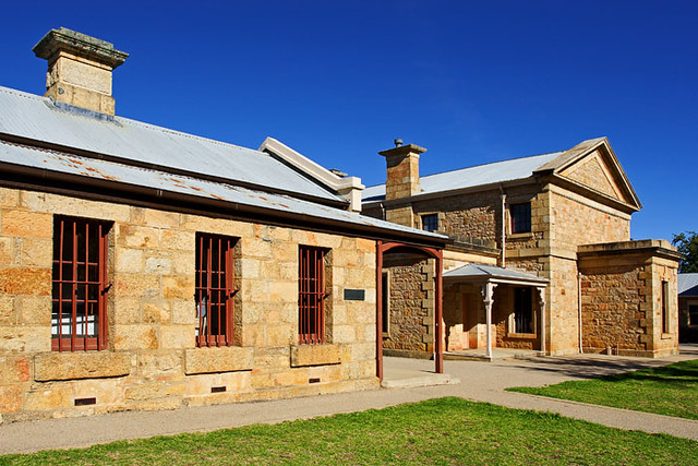 Beechworth Australia  City new picture : Beechworth, Victoria, Australia, Historic Sub Treasury and Courthouse ...
