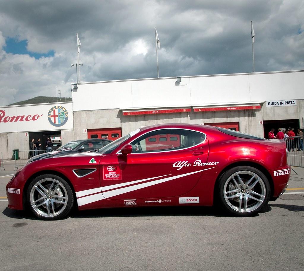 Alfa Romeo 8C Competizione, Track Day, Varano (Parma, Ital