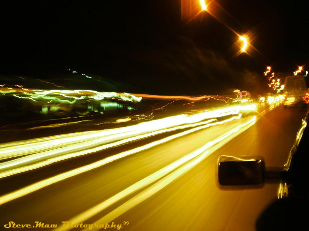 speed and light, marrakesh by night - Taken while half hangi… - Flickr