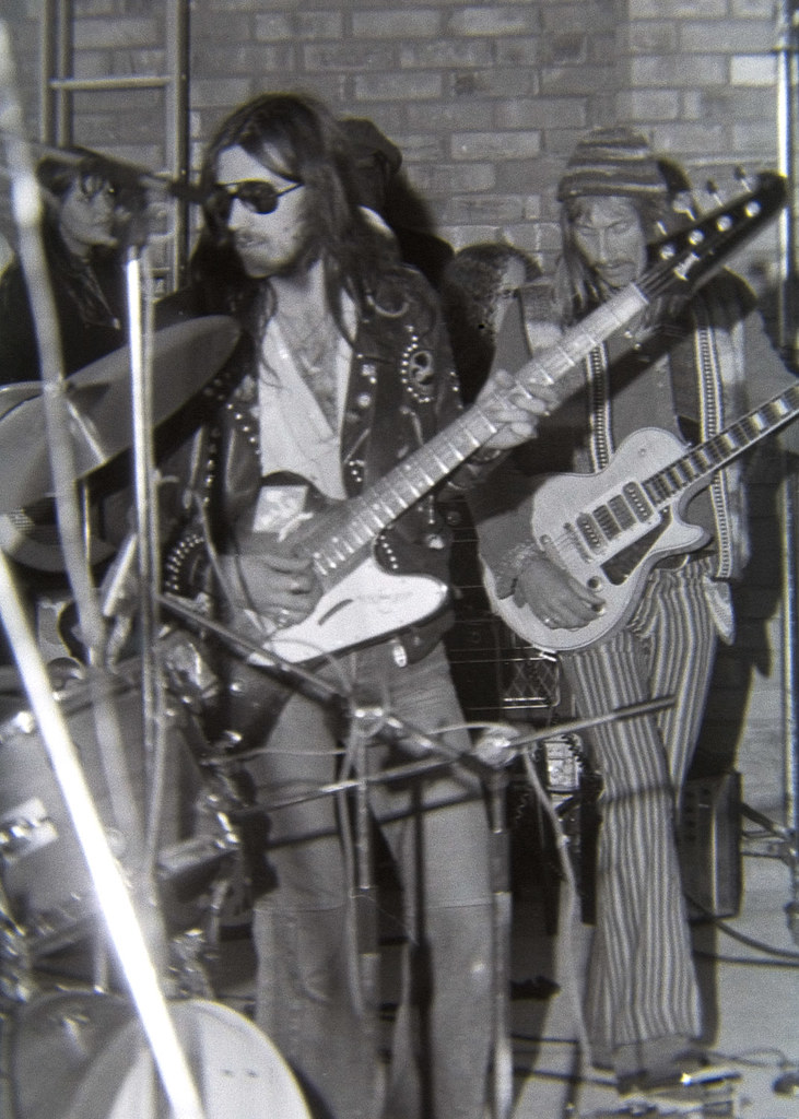 Lemmy Amp Dave Brock Hawkwind Harlow Town Park 1973