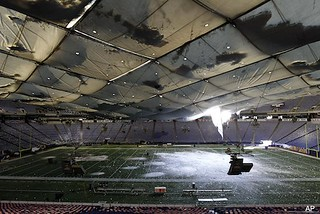APTOPIX Winter Storm Metrodome Collapse | by Front Office News