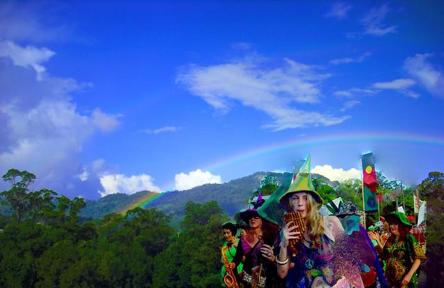 Rainbow Region by R. Ayana