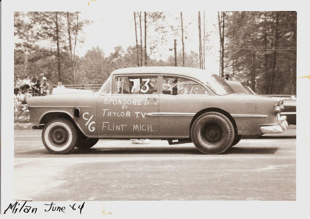 Milan (Michigan) Dragway 1964   The month I graduated from ...