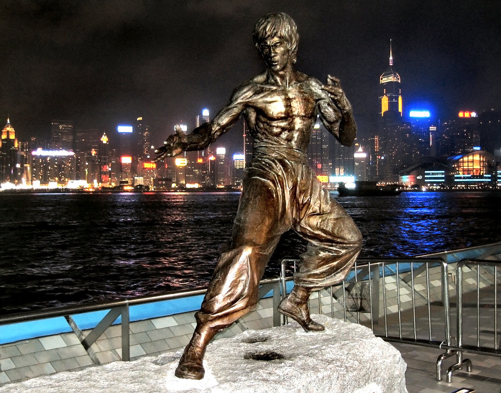 bruce lee statue hong kong this is one from the archive