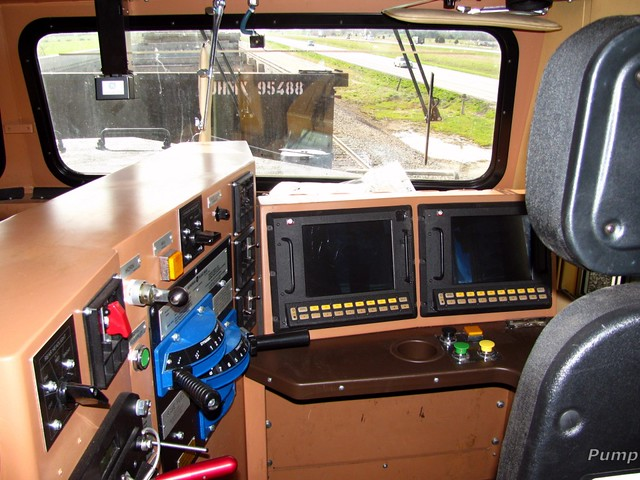 bnsf gevo cab at diggins mo engineer 39 s side of the cab l flickr. Black Bedroom Furniture Sets. Home Design Ideas