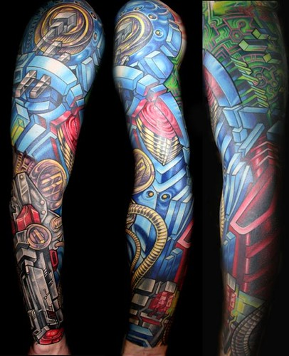 Biomechanical Robot Biomechanical Tattoos Page 4