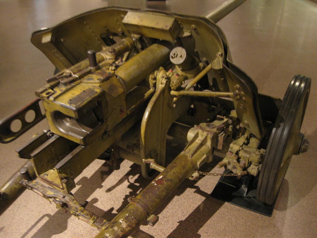German 50 Mm Anti Tank Gun: German WWII 50mm Anti-Tank Gun Pak 38 For More