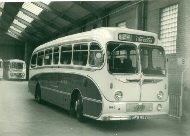 Ribble Motor Services . 1063 NFR957 . Liverpool . August-1 ...
