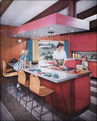 1959 Mid Century Modern Kitchen