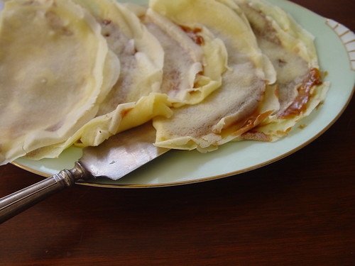 panqueques--crepes filled with dulce de leche | by From Argentina With Love