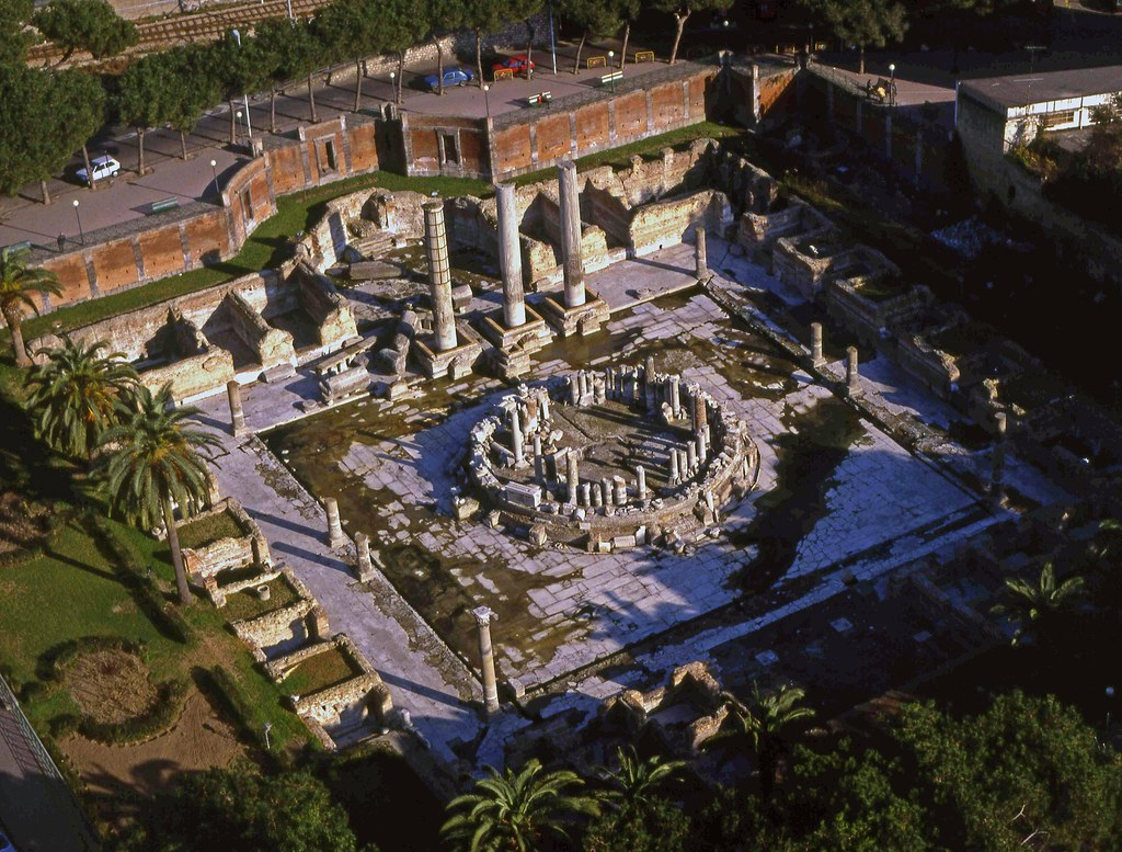 Serapide Temple Macellum Pozzuoli The Floor Is Now