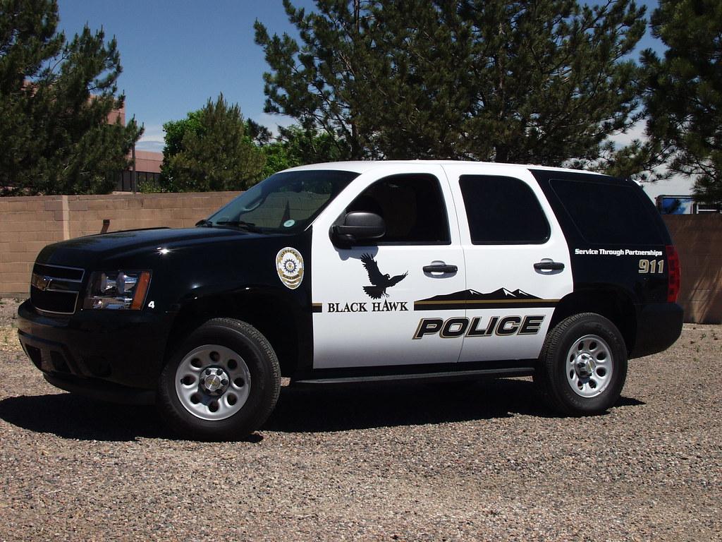 Black Hawk Police Tahoe (Colorado)   New design for this ...