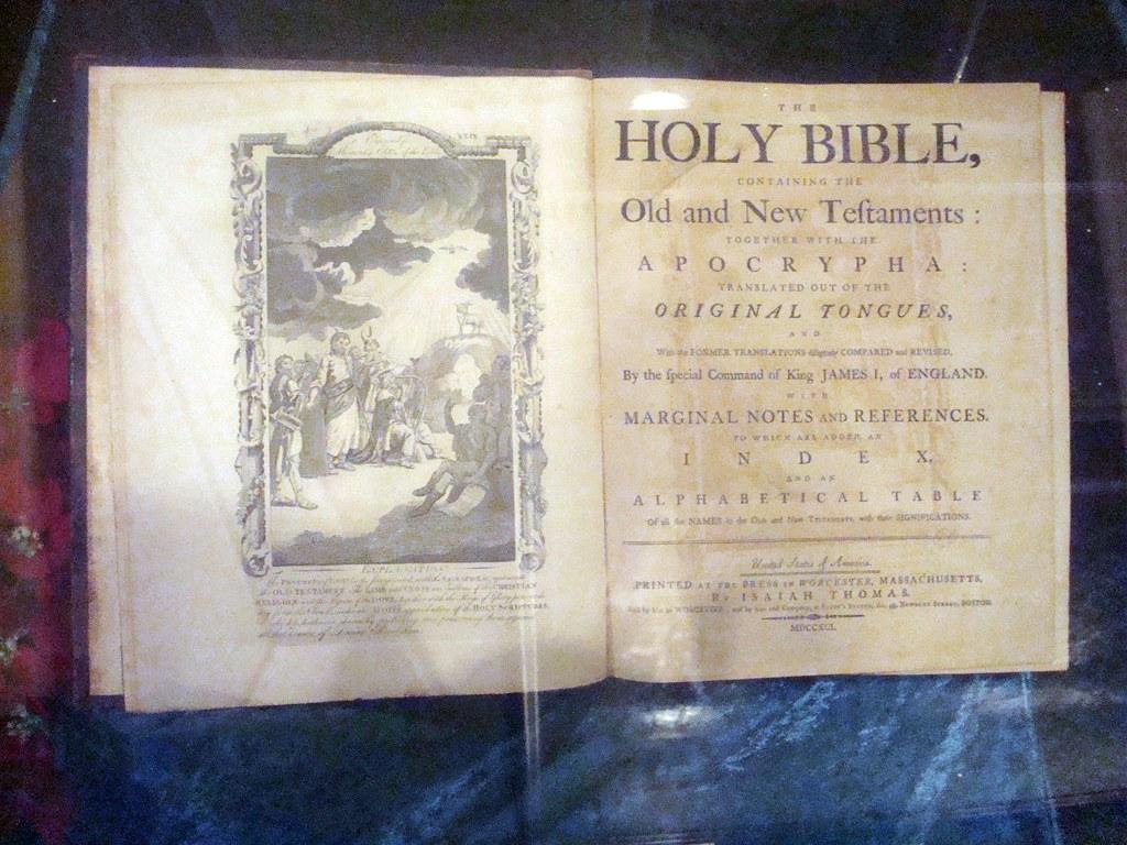 isaiah thomas bible
