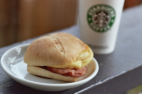starbucks new 'breakfast pairings' | by cafemama