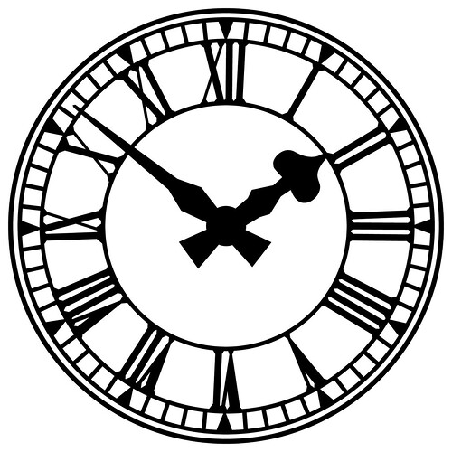 Old Clock Drawing 3639291429_f19524c475.jpg