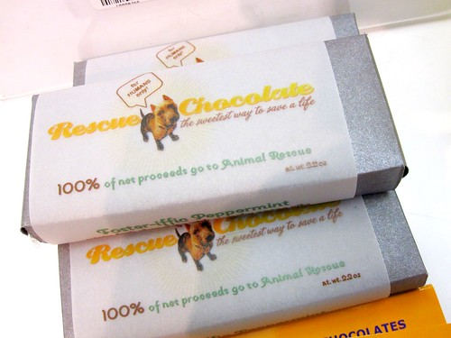 Rescue Chocolate Bar (Vegan) | by veganbackpacker