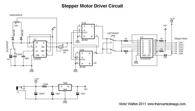 how to build a stepper driver