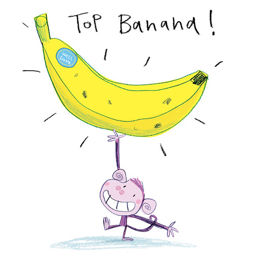 Top Banana For Black Olive Greetings Fred Blunt Flickr