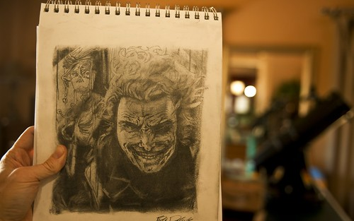 The Joker... my latest drawing | by Stuck in Customs