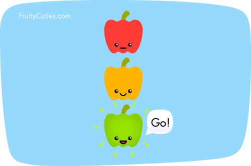 Peppers joke fruity cuties peppers are go if only - Fruity cuties jokes ...
