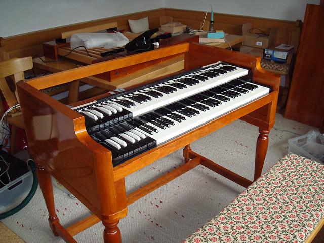 midi organ controller for native instruments b4 building t flickr. Black Bedroom Furniture Sets. Home Design Ideas