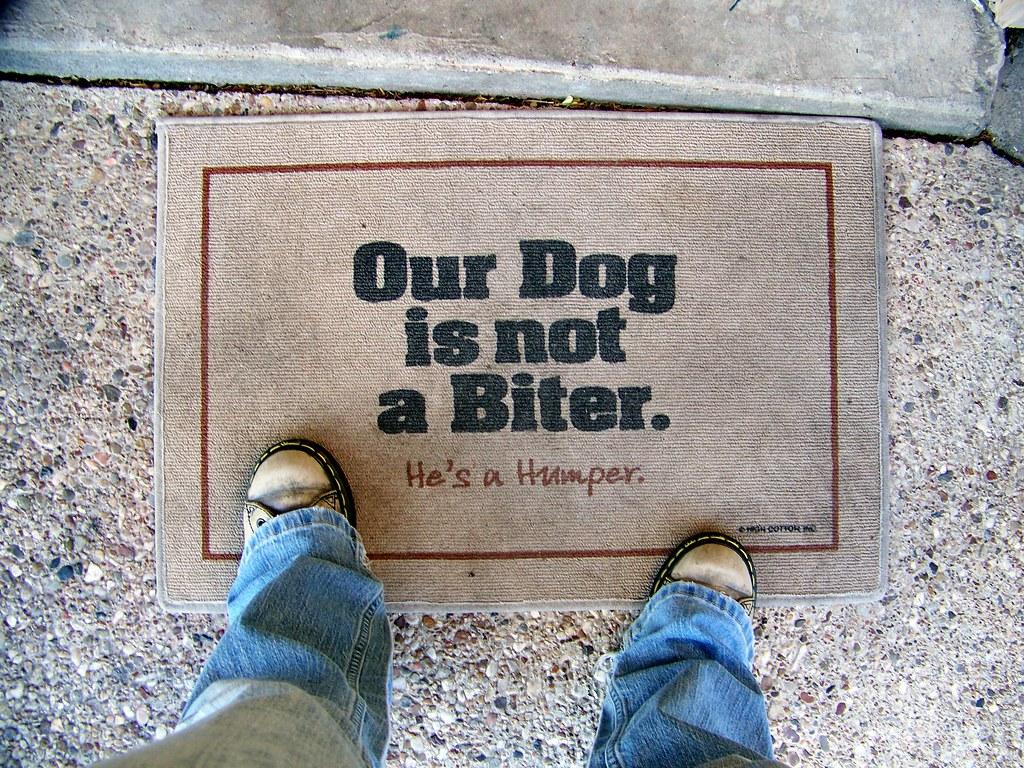 Amazing Iu0027ve Had This Doormat For Aboutu2026 | Flickr