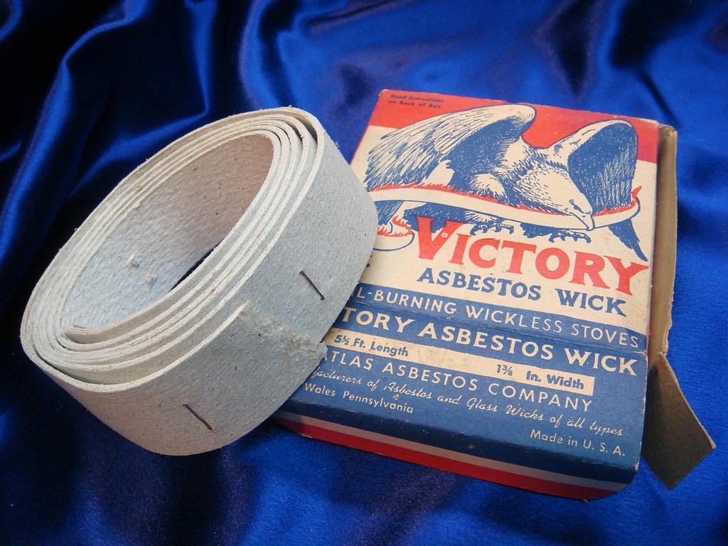 Asbestos Paper Wick Victory An Example Of Asbestos