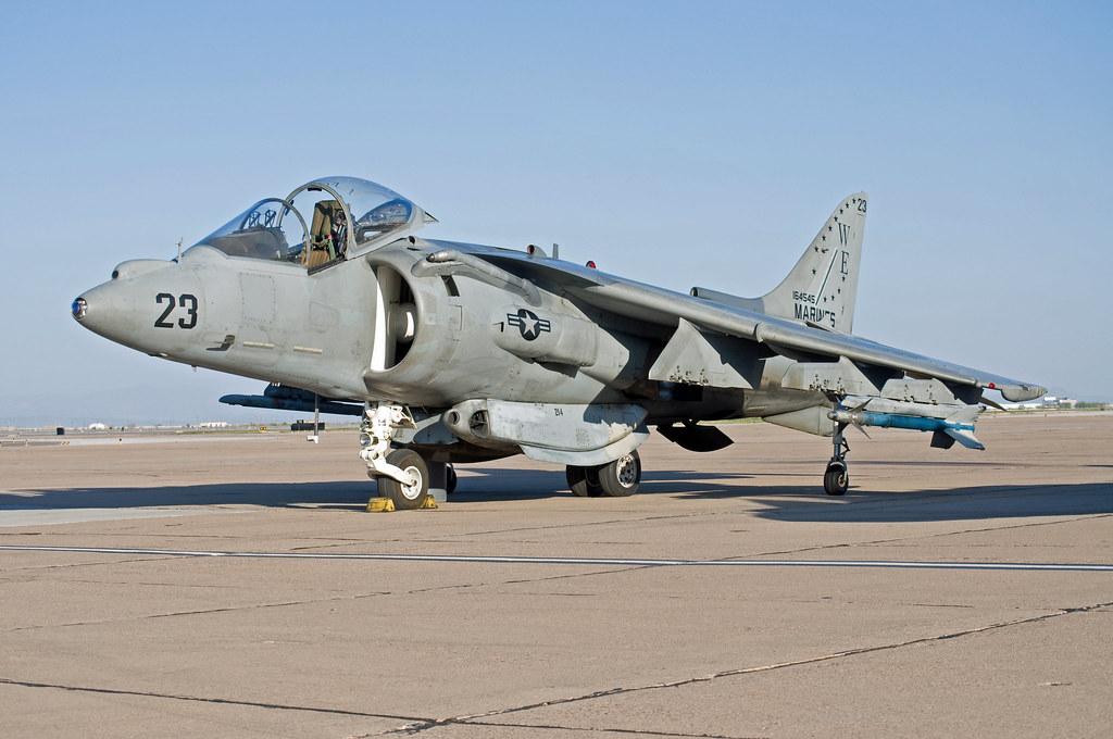 mcdonnell douglas av-8b harrier II night attack | Marine ...