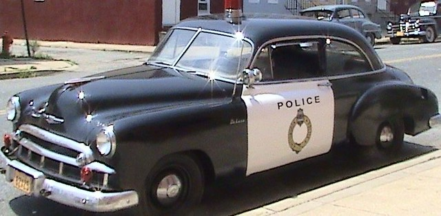 New Chevy Cop Car
