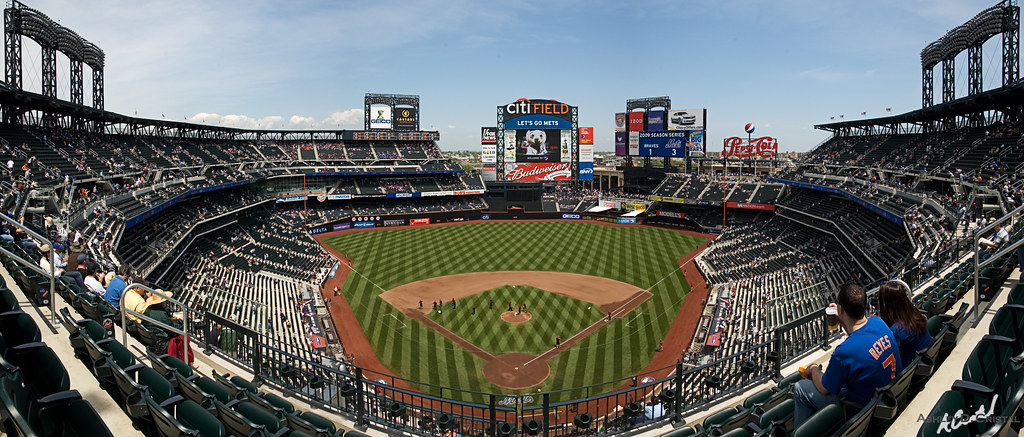 Citi Field: The Money Shot | What collection of stadium ...