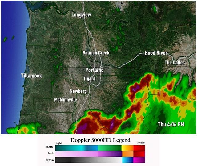Weather Radar >> Doppler Radar | kgw.com | News for Portland Oregon and SW ...