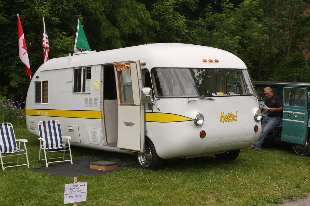 1968 Ultra Van Corvair Motorhome Richard Spiegelman Flickr